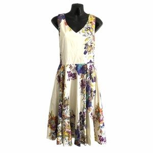 IXIA boutique brand fit and flare floral  sundress